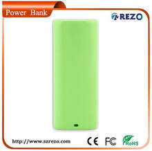 plastic case CE, ROHS, FCC certificate portable power bank charger with 4000mAh 5200mAH for iphone, ipad, digital camera