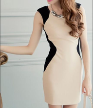 Latest Office Dress Women Charming Sleeveless Party Club Tunic Bodycon Dress