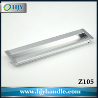 Hot selling furniture hardware product recessed cabinet flush drawer pull