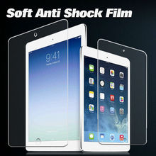 Factory price Ultra smooth anti shock protector anti shock screen protector for ipad air