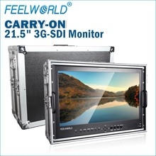 Top quality 3G-SDI input&Output 21.5 inch perfessional 1080p High Definition arts and photography lcd monitor