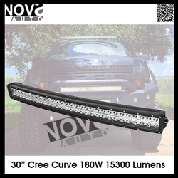 Super Power 30inch 180w off road led light bar for motorcycles 4x4 car accessories