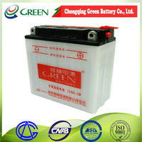 """""""Lead Acid Dry charged Motorbike battery for Motorcycle starting, 12N5-3B, Made in Chongqing China"""