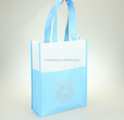 Ecological Promotional silk printing ECO pp laminated non woven bag