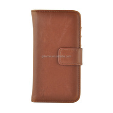 Wholesale wallet flip design leather case for iPhone 5/ 5S