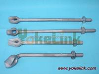 machine bolt / oval eyebolt / thimble eye bolt