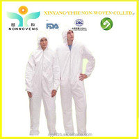 Hot!!! New Nonwoven Disposable Safety Protective medical using working coverall