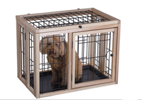 Luxurious easy assembly indoor economic wholesale modular cute dog kennels,dog cages