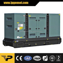 Rated Output 300KW Soundproof Generator Powered by Cummins Diesel Genset