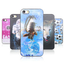 3D Cover Case for iphone 5/5S Multi Pictures 10 Kinds Selection High Quality