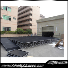 Portable Smart Stage for Indoor and Outdoor Events and Shows