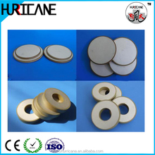 Hot sell 1MHz PZT-8 PZT-4 PZT-5 ultrasonic piezo ceramic element