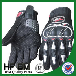 Hot sale Riding Gloves Motorcycle, HF-203(blue/ red/ black)