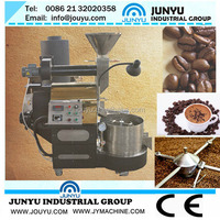 2014 Automatic stainless steel 1KG coffee bean roaster machine