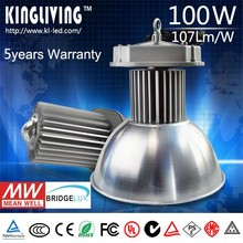 China Hot sales IP65 100w led high bay light Using Bridgelux 100W LED chips /Meanwell driver 100W led high bay lighting price