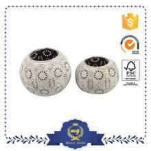 Top Class Small Order Accept Iron Mini Decorative Lanterns White