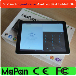 mapan tablet pc 9.7 inch google android pc tablet with dual sim card dual standby firmware android pc tablet