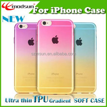 Free design Transparent case for iPhone 6 case,OEM logo print for iphone case