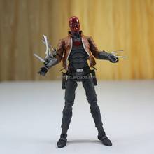 3d custom making action figure/ action figure with sword in arms /custom articulated plastic action figure