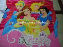 100% polyester snow white princess polar Fleece fabric