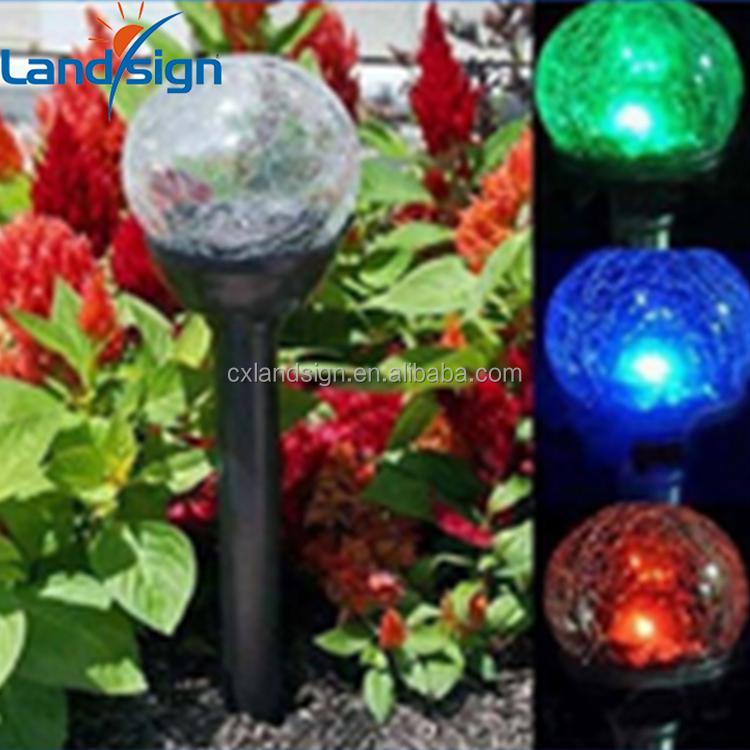 Цыси landsign оптовая продажа солнечная энергия свет для сада XLTD-719 1 * белый из светодиодов открытый из светодиодов сад свет
