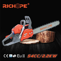 zm5460 forest rubber tree cutting for big tree chain saw use