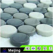 China fornecedor da pintura do esmalte mosaico mosaico telha telhas para artesanato
