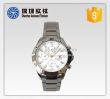 China making exclusive dial titanium watch for men and women