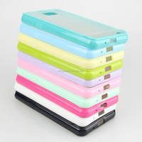 Transparent clear skin TPU cover case for samsung i9100 galaxy s2