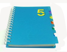 Custom cheap b5 size school exercise spiral dairy note book