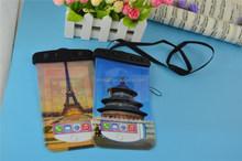 wholesale waterproof bag for iphone 6 plus/cellphone waterproof bag/phone waterproof dry bag