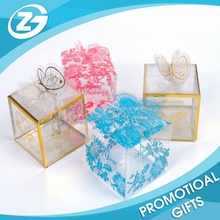 New Year Promotion Gift Customized Full Color Printed Clear PVC Box Clear Plastic Box Clear PVC Gift Box