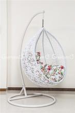 rattan furniture outdoor gazebo mesh swing