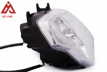 """White LED Headlight Crystal Clear Halogen Rectangle Head Light Universal For 7"""" Motorcycle Or Car"""