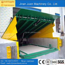 Industrial Warehouse Adjustable Loading Dock Ramp
