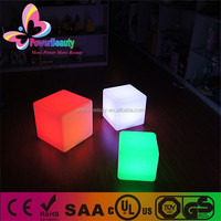 Hard Plastic Housing Led Multi Color Water Proof Modern Led Hanging Cubes