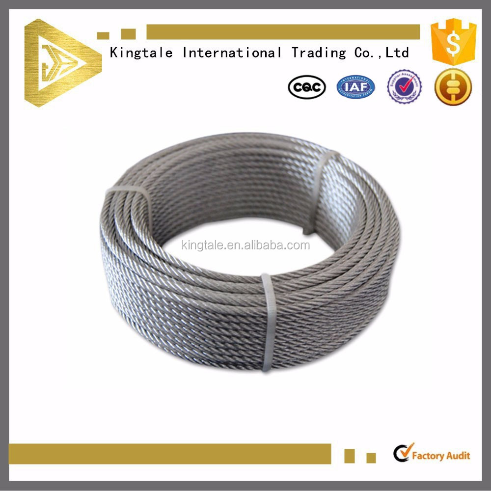 6*37 Galvanized Steel Wire Rope Crane Wire Rope Specification - Buy ...