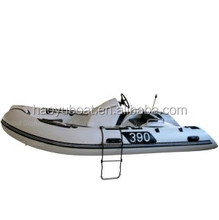 12.8ft rigid inflatable rib boat hypalon Sport boat Or Fishing boat RIB390C with CE RIB390C