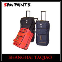 Different color trolley travel luggage bag with wheels