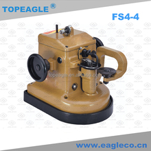 TOPEAGLE FS4-4 various animal furs automatic lubrication industrial sewing machine for shoe leather