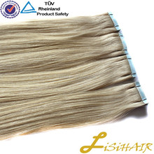 Christmas New Arrival deep pink caucasian Remy Tape hair extensions human hair