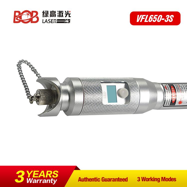 Light Source Pen Type Fiber Optic Visual Fault Locator design of Screen (BOB-VFL650-3S)