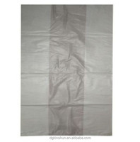 high quality large clear sack bag heavy duty plastic bags