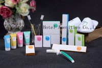Yangzhou hotel supply/Kit bath set for hotel disposable cosmetic kit/OEM Welcomed Disposable travel hotel dental kit