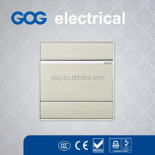 2014 hot selling wall switch,electrical on off lighting switches from GOG factory