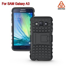 BX supply nontoxic pc+tpu hot selling mobile phone case for samsung galaxy A3 case cover