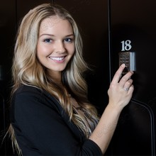 125KHz RFID Gym Digital Locker Lock