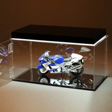Handmade cube model car display case for scale model car display boxes