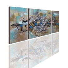 Triptych Arabic Oil Painting Gallery