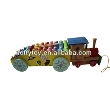Wooden children Xylophone in Truck shape
